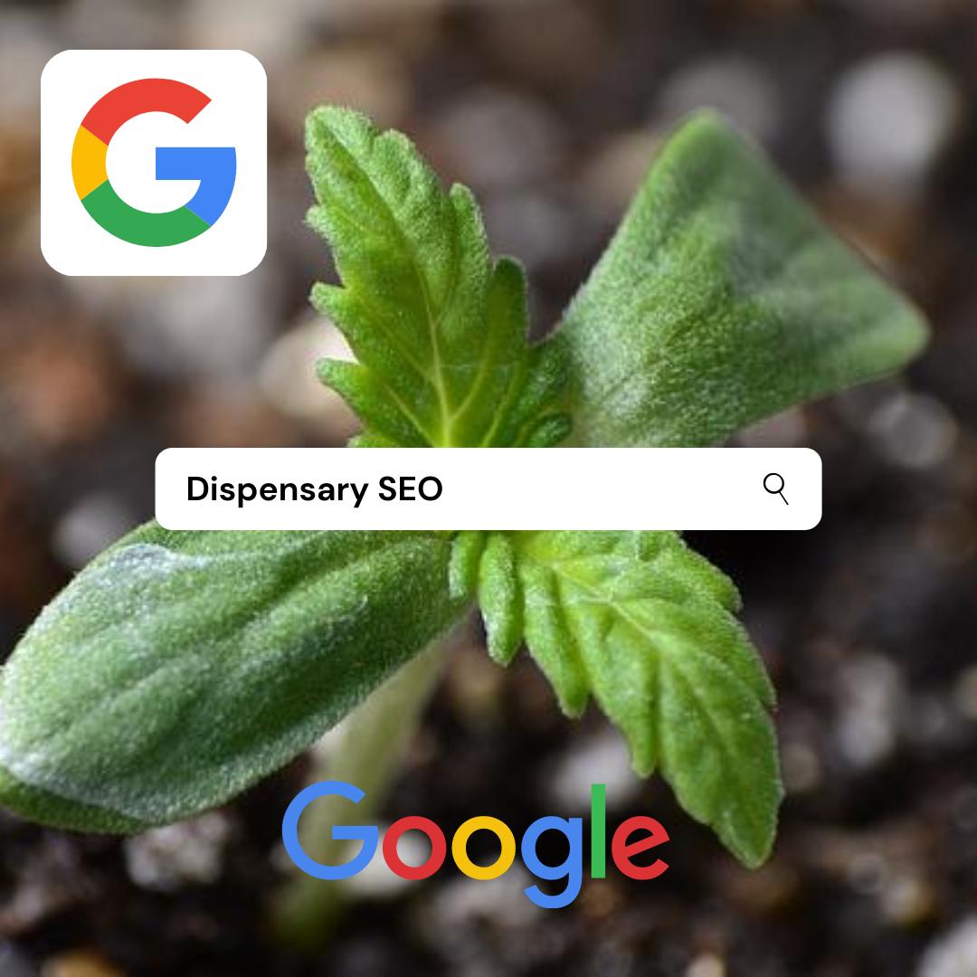 Dispensary SEO Goole listing